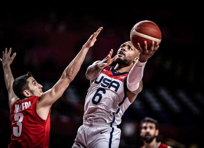 D.Lillardas buvo rezultatyviausias (FIBA nuotr.)