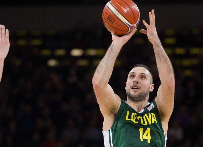 G.Orelikas jau metus negali žaisti krepšinio (BNS nuotr.)