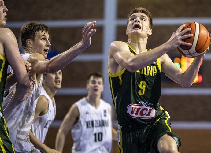 D.Giedraitis sužaidė solidų mačą (FIBA nuotr.)