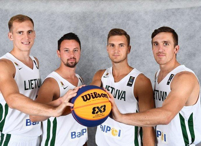 Lietuvos 3x3komanda pasikėlė savo akcijas (FIBA Europe nuotr.)