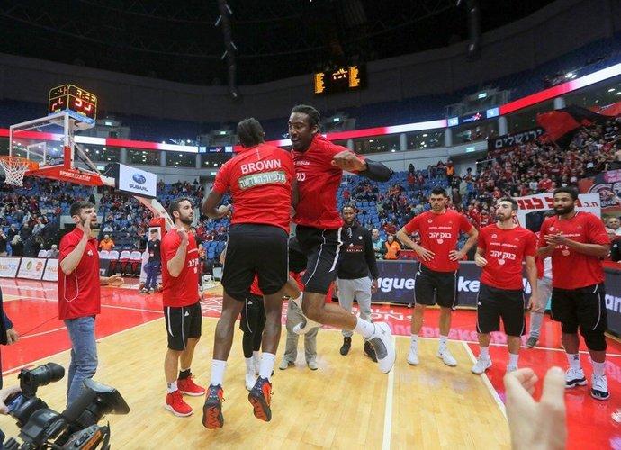 """""""Hapoel"""" trečiadienį kovos prieš """"Neptūną"""" (FIBA Europe nuotr.)"""