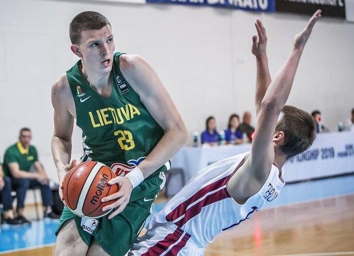 P.Murauskas žaidė solidžiai (FIBA Europe nuotr.)