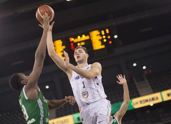 D.Tarolis pelnė 6 taškus (FIBA Europe nuotr.)