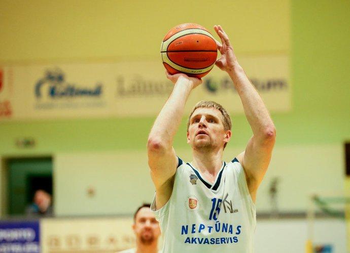V.Šarakauskas surinko dvigubą dublį (Foto: Matas Baranauskas)