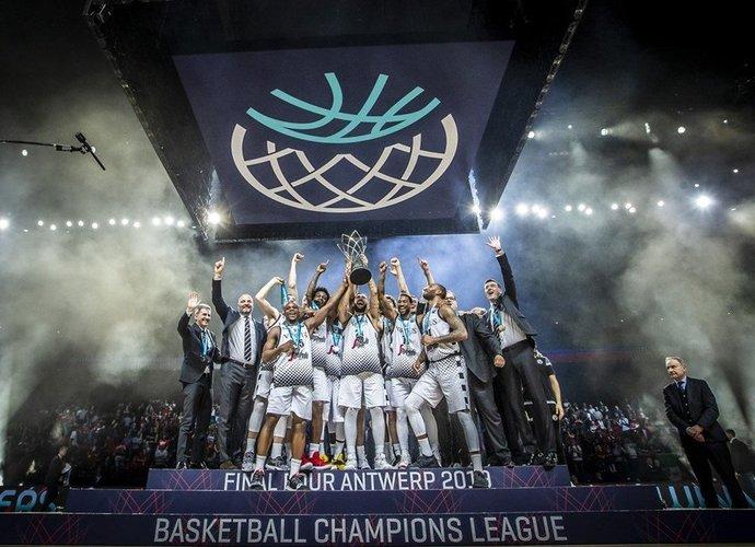 """""""Virtus"""" iškovojo titulą (FIBA Europe nuotr.)"""