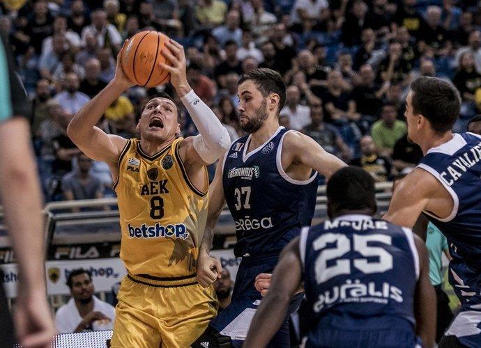J.Mačiulis surengė puikų pasirodymą (FIBA nuotr.)