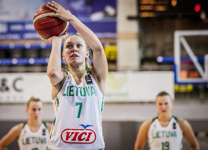 G.Meškonytė pelnė 15 taškų (FIBA Europe nuotr.)