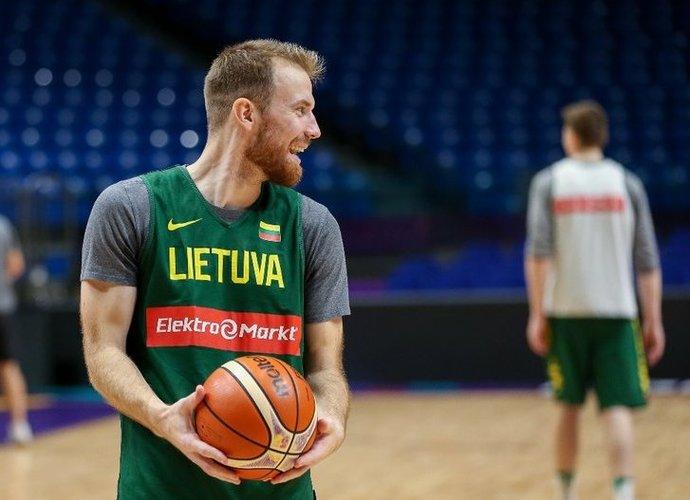 M.Gecevičius sezoną pradeda dar neturėdamas klubo (Matas Baranauskas, Fotodiena.lt)