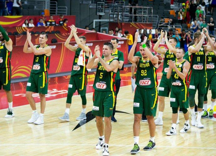 A.Sireika mano, kad Lietuva laimės prieš Kanadą (BNS nuotr.)