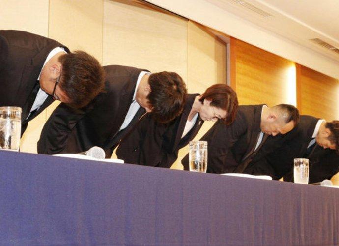 Japonijos krepšininkai turėjo atsiprašyti (AFP-Scanpix nuotr.)