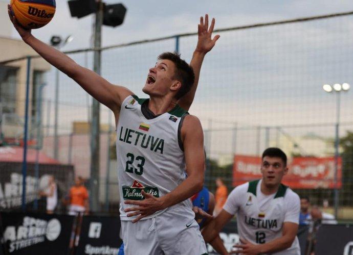 Lietuviai pasiekė finalą (FIBA nuotr.)