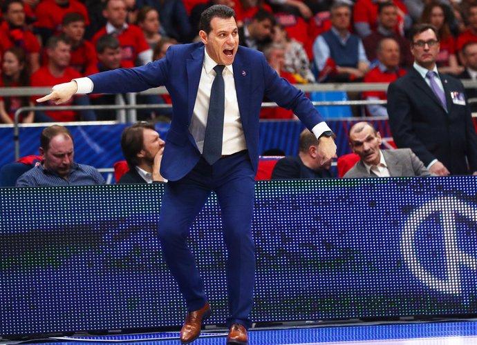 D.Itoudis su CSKA bandys užkariauti Eurolygos viršūnę (Scanpix nuotr.)
