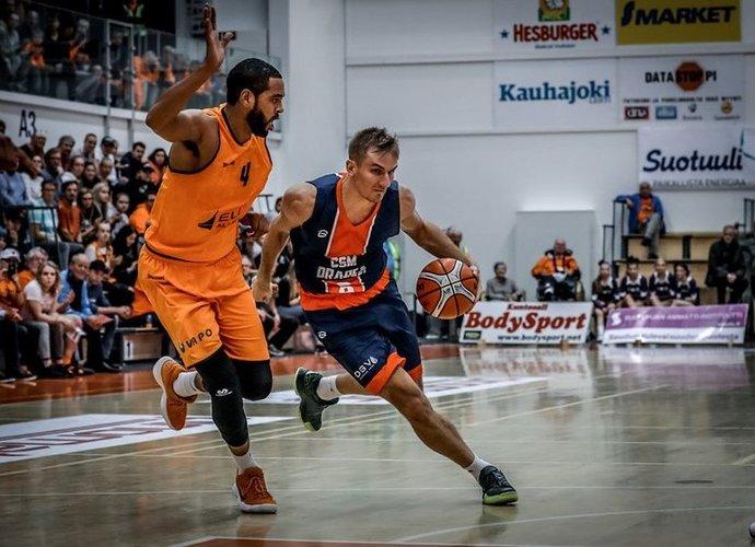 """V.Kariniauskas grįžta į """"Lietkabelį"""" (FIBA Europe nuotr.)"""