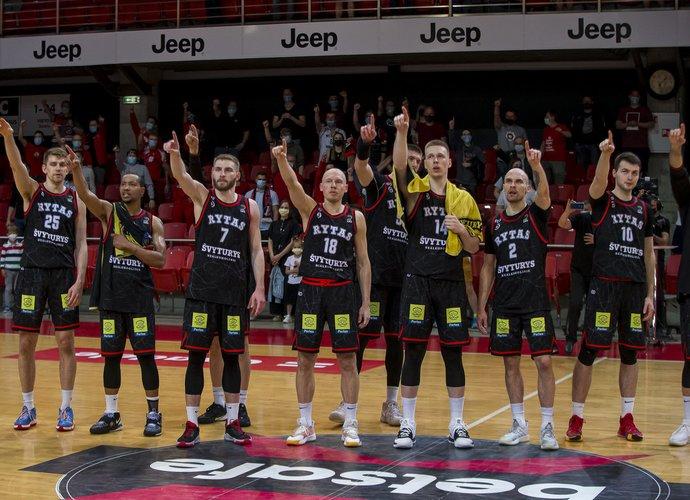 Vilniaus klubas kitais metais vėl varžysis FIBA čempionų lygoje (BNS nuotr.)