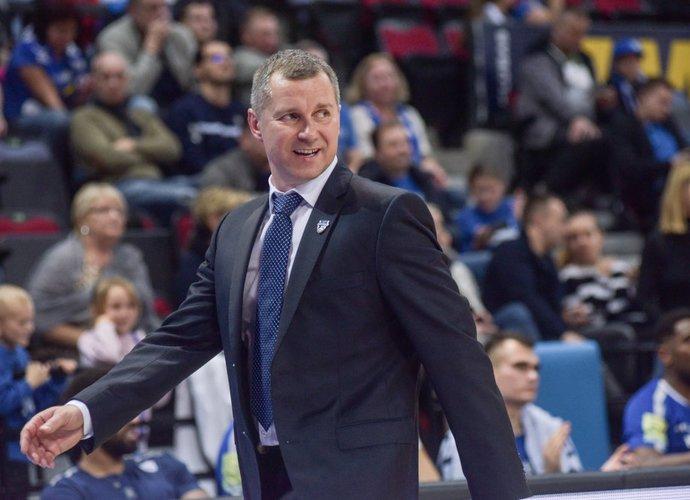 T.Rinkevičius teigė, kad pergalės pridėjo daug pozityvumo komandai (BNS nuotr.)