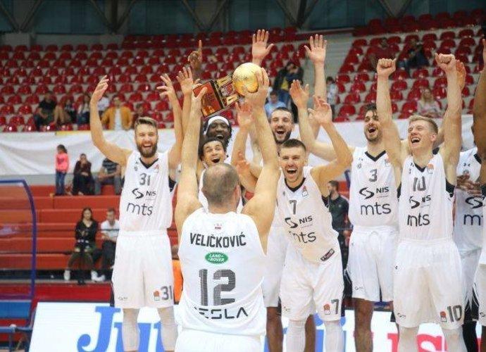 Serbijos ekipa pakiliai pradėjo sezoną
