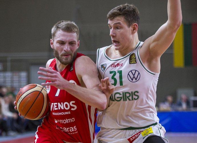 G.Radzevičius šį sezoną tapo vienu iš Utenos komandos lyderių (BNS nuotr.)