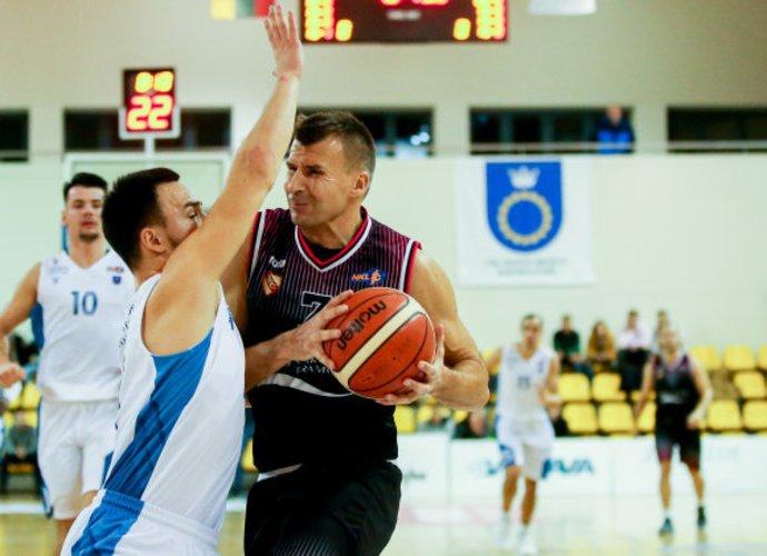 S.Serapinas buvo žaidžiantysis vyr. treneris (Matas Baranauskas, Fotodiena.lt)