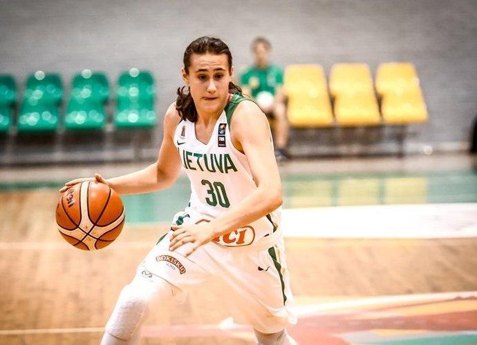 A.Zdanevičiūtė paskutinę sekundę atnešė pratęsimą (FIBA Europe nuotr.)