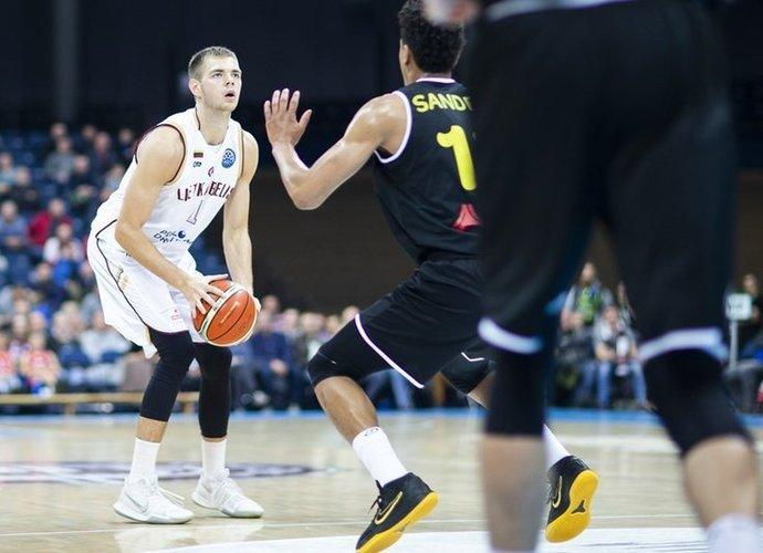 D.Tarolis patyrė traumą (FIBA nuotr.)