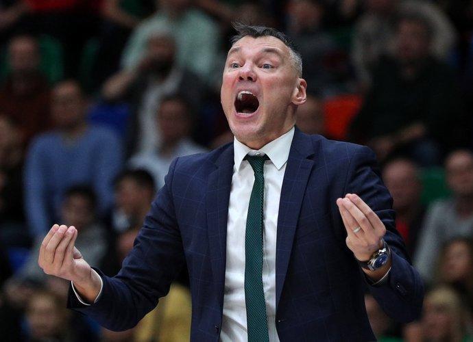 Š.Jasikevičius tokios pralaimėjimų serijos dar nėra turėjęs (Scanpix nuotr.)