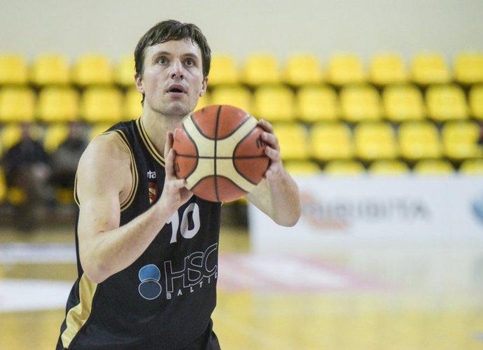 M.Ruikis su komanda džiaugėsi pergale (NKL nuotr.)