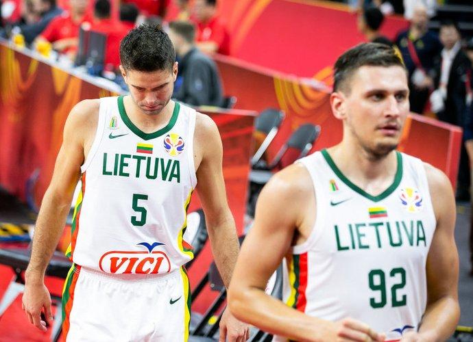 Lietuvos rinktinė pirmąjį etapą baigė pralaimėjimu (BNS nuotr.)