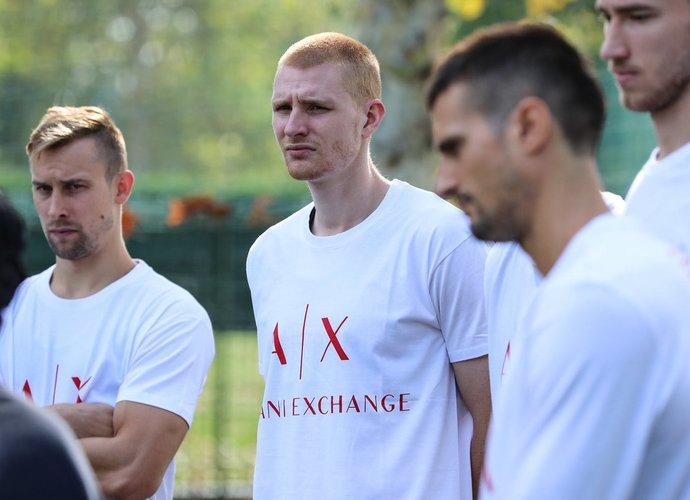 D.Dulkys lieja prakaitą su Eurolygos ekipa
