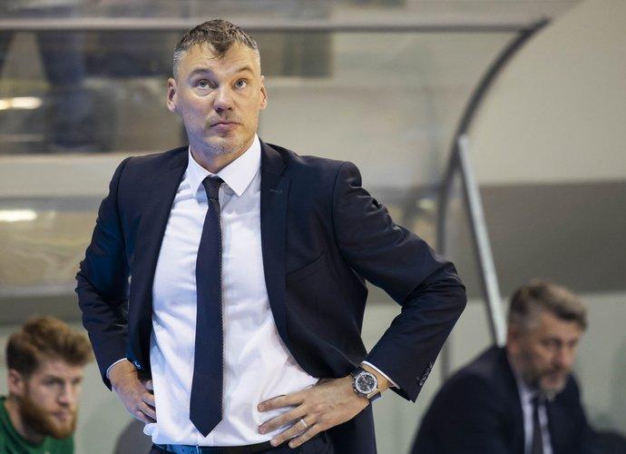 Š.Jasikevičius vėl labiau dairėsi į savo kiemą (BNS nuotr.)