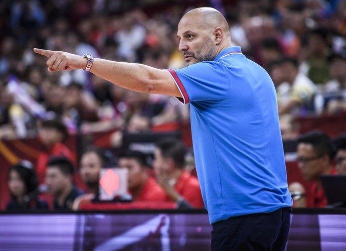A.Džordževičius nėra patenkintas čempionato organizacija (FIBA nuotr.)