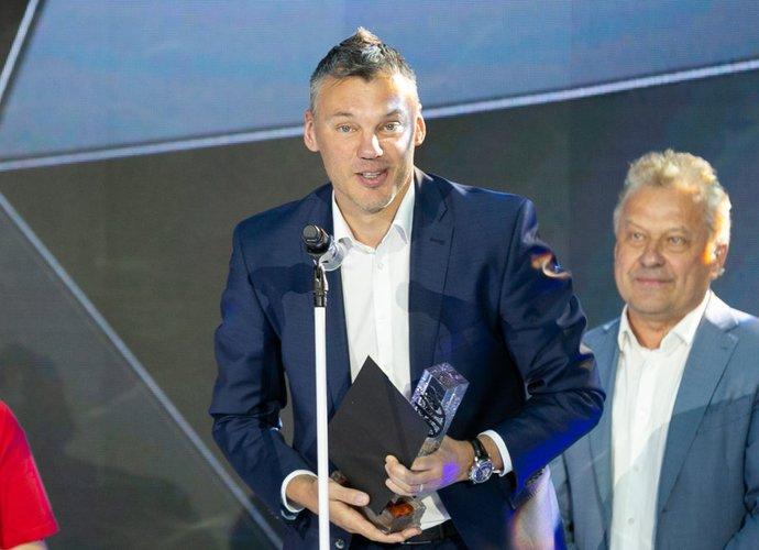Š.Jasikevičius tapo metų treneriu (BNS nuotr.)
