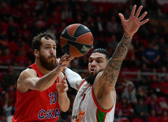 S.Rodriguezas nori laimėti titulą su CSKA ekipa (Scanpix nuotr.)