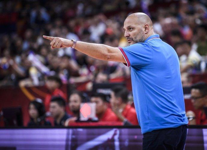 A.Džordževičius kritikavo savo žvaigždę (FIBA nuotr.)