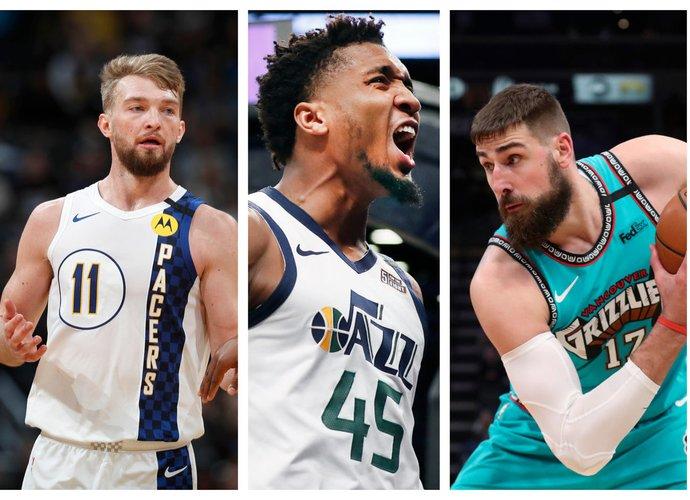 """""""Pacers"""", """"Jazz"""" ir """"Grizzlies"""" išgyvena pakilimą (Scanpix nuotr.)"""
