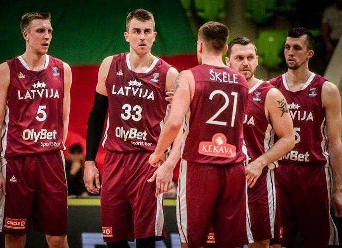 Latvijos rinktinė pralaimėjo abu mačus (FIBA Europe nuotr.)