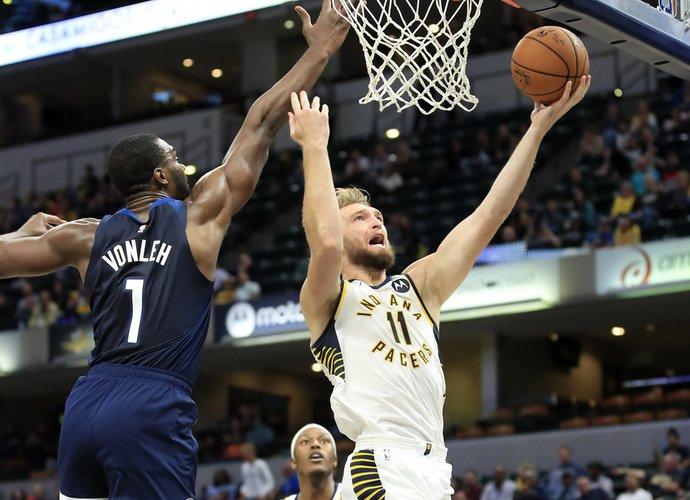 D.Sabonis NBA ekspertų akyse aplenkė J.Valančiūną (Scanpix nuotr.)