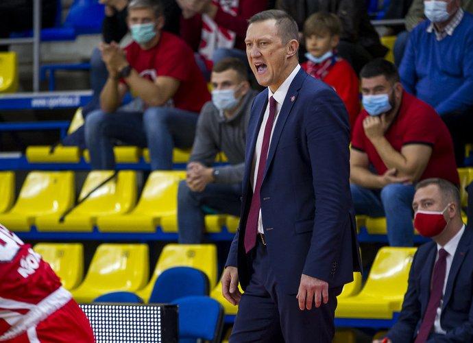 Ž.Urbonas turi vos du sveikus žaidėjus (BNS nuotr.)
