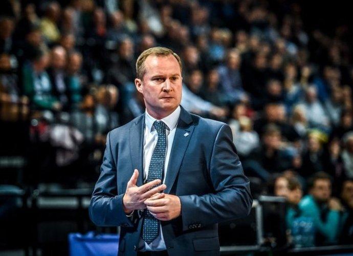K.Maksvytis paanalizavo būsimus oponentus (FIBA Europe nuotr.)