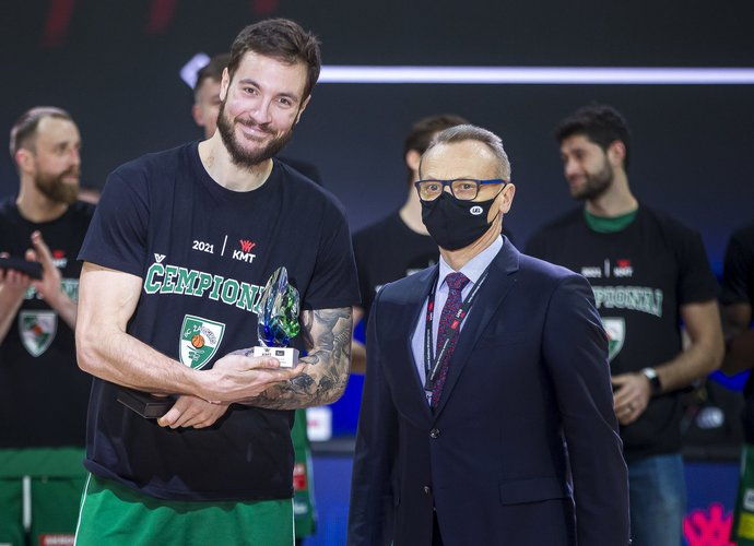 J.Lauvergne'as tapo MVP (BNS nuotr.)