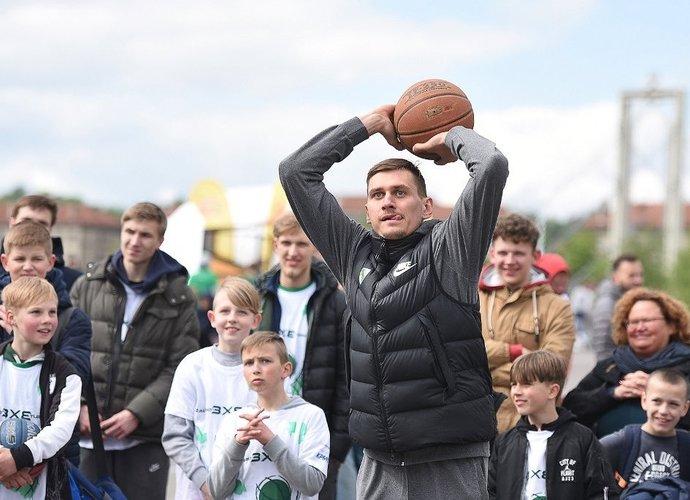 Žalgiriečiai taip pat apsilankė turnyre (Foto: Dainius Lukšta)