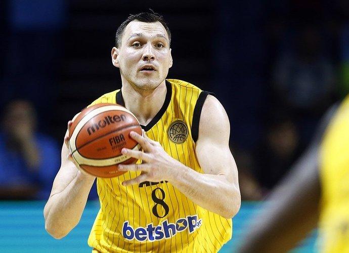 J.Mačiulio sezoną anksčiau laiko baigė traumą (FIBA Europe nuotr.)
