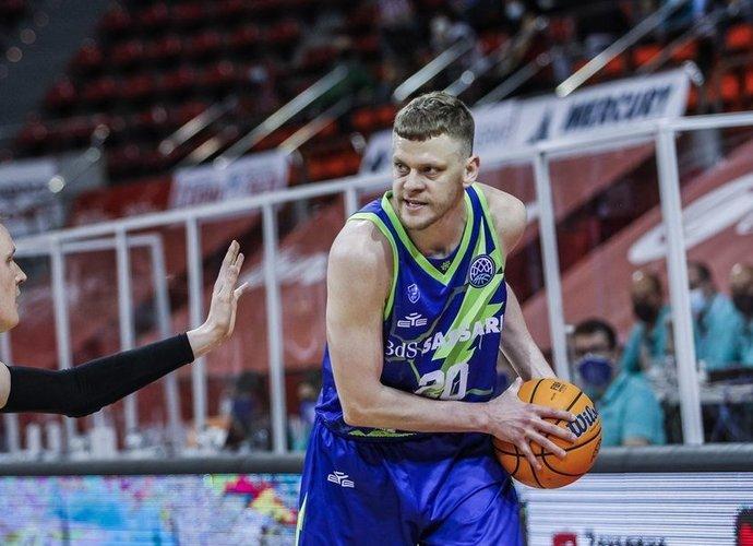 E.Bendžius įmetė 13 taškų (FIBA Europe nuotr.)