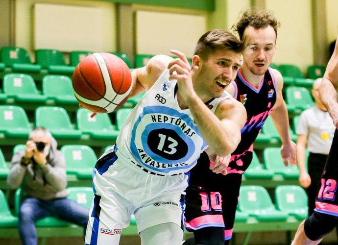 A.Sidarevičius šį sezoną debiutavo ir LKL pirmenybėse (Foto: Matas Baranauskas)