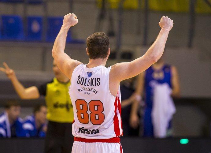 V.Šulskis sužaidė galingas rungtynes (BNS nuotr.)