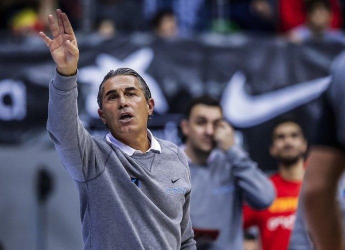 S.Scariolo džiaugėsi lyg laimėjęs medalį (FIBA Europe nuotr.)
