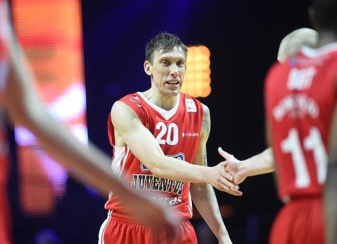 D.Šalengai reikėtų sužaisti dar vieną sezoną tam, jog pagerintų rekordą (Matas Baranauskas, Fotodiena.lt)