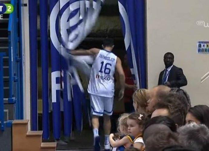 K.Papanikolaou sutrikdė rungtynes