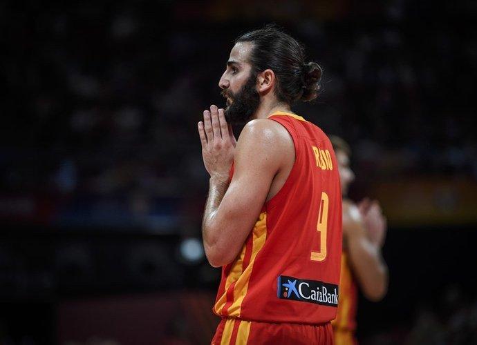 R.Rubio kalbėjo jautriai (FIBA nuotr.)