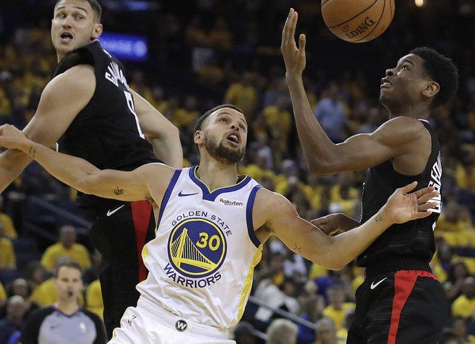 "S.Curry buvo ryškus ""Warriors"" lyderis (Scanpix nuotr.)"