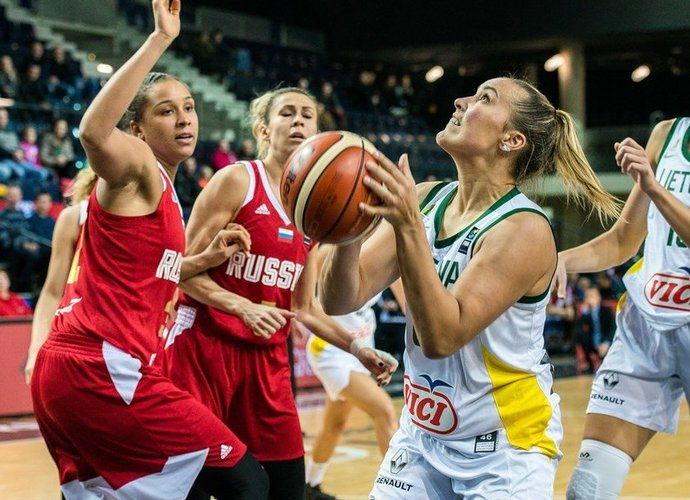 K.Nacickaitės indėlio pergalei nepakako (FIBA Europe nuotr.)
